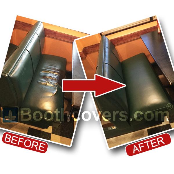 restaurant booth seat repairs
