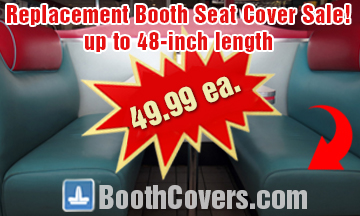 vinyl fabric booth cover prices