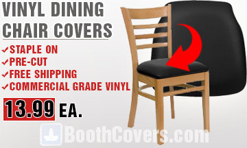 Replacement Vinyl Dining Chair Covers | Staple On | Save Money | DIY