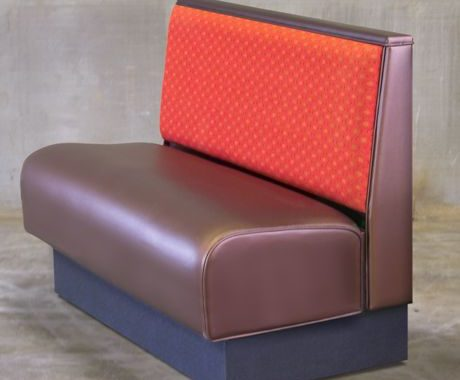 Vinyl Restaurant Booth Cover Bar Stool Dinning Chair