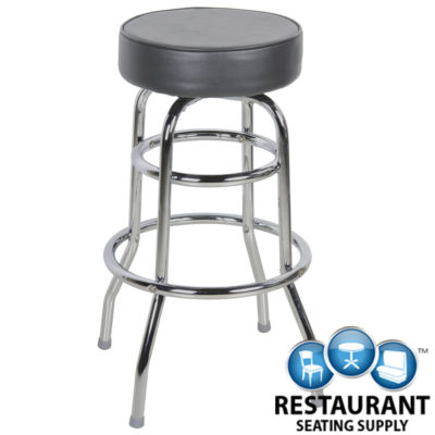 Round Vinyl Bar Stool Replacement Cover