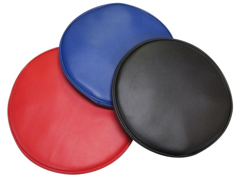 Round Vinyl Bar Stool Covers